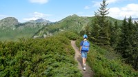 independent walking alps France GR5